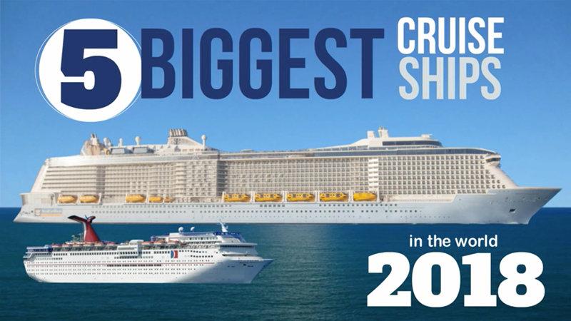 2018 Largest Cruise Ship