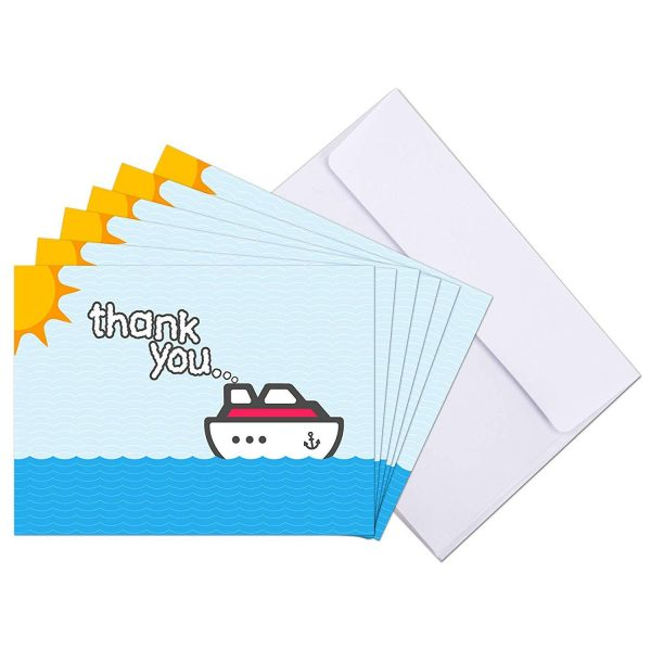 Cruise Staff Thank You Cards