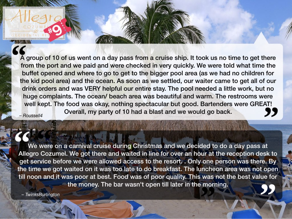 Allegro Cozumel Reviews