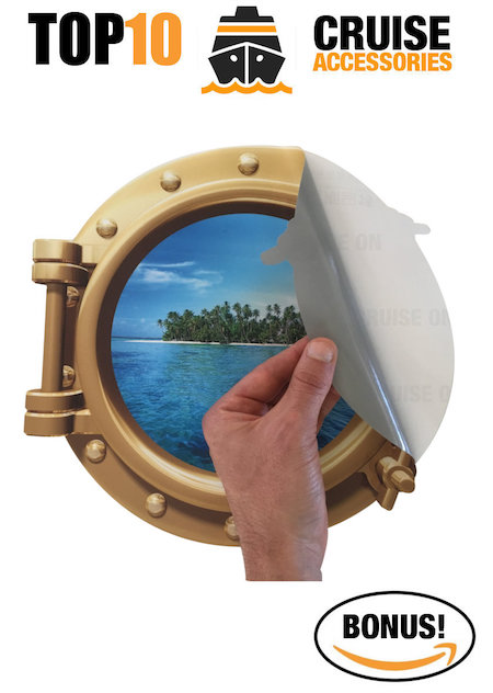 Amazon Accessories - Porthole Sticker