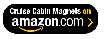 Amazon Button - Cruise Cabin Magnets