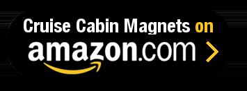Amazon Button - Cruise Cabin Magnets