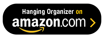 Amazon Button - Hanging Organizer