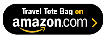 Amazon Button - Travel Tote Bag