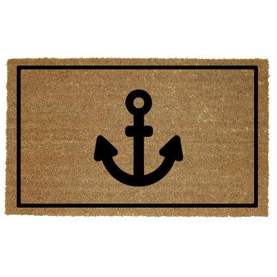 Anchor Door Mat Coconut Coir