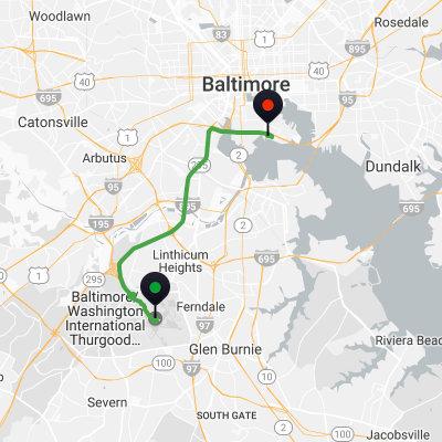 Baltimore Cruise Port Shuttle