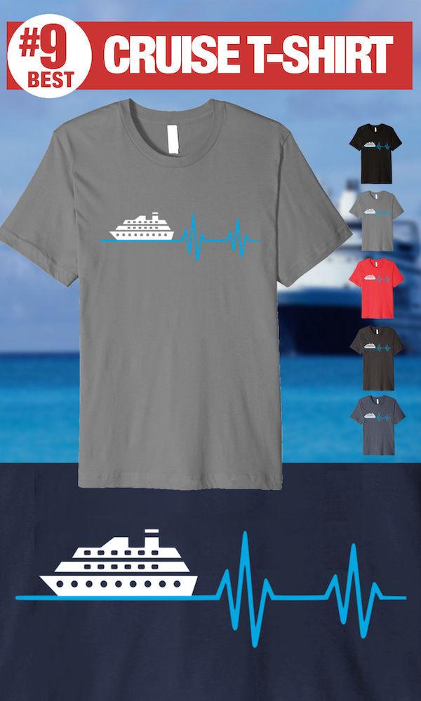 Best Cruise Shirts - Cruise Heartbeat Tee