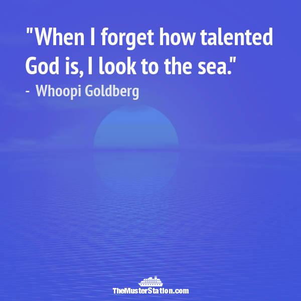 Ocean Quote 1 of 99: When I forget how talented God is, I look to the sea.