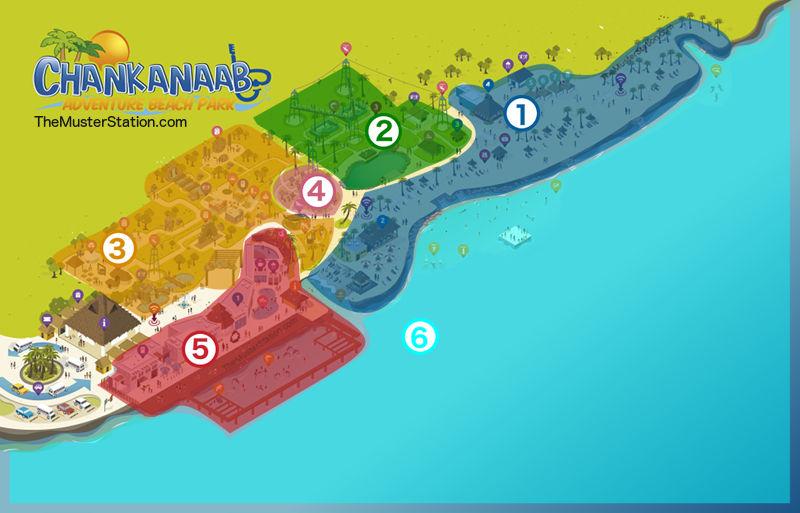Chankanaab Park Map
