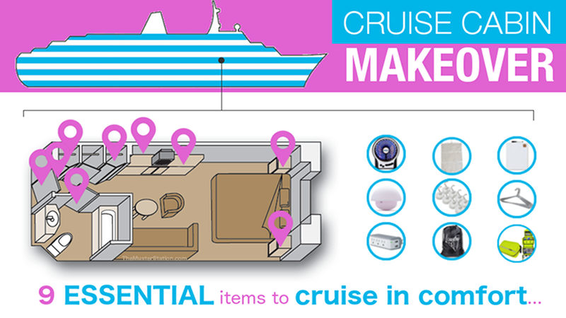 Cruise Cabin Accessories