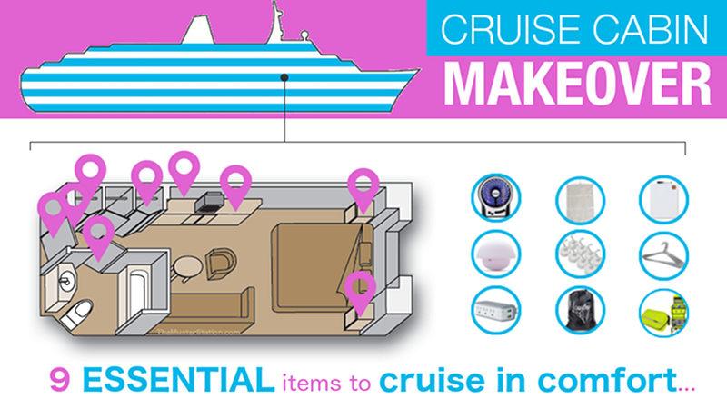 Cruise Cabin Accessories