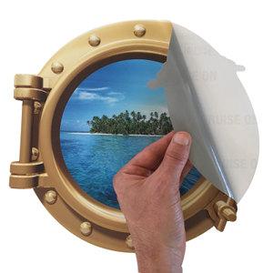 Cruise Porthole Sticker Door Decoration