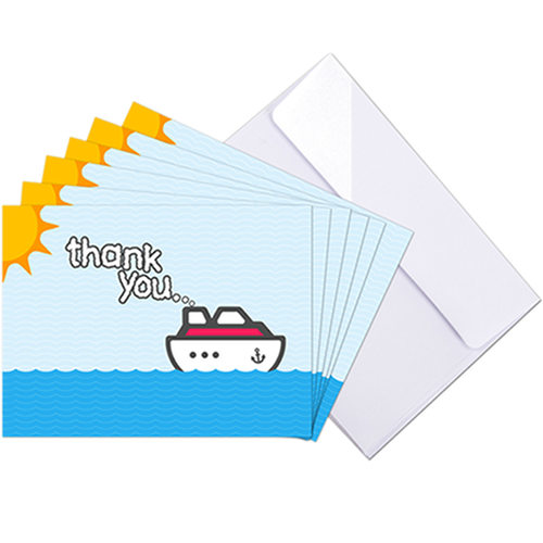 Cruise Crew Thank You Cards
