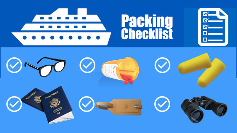 cruise packing checklist pdf