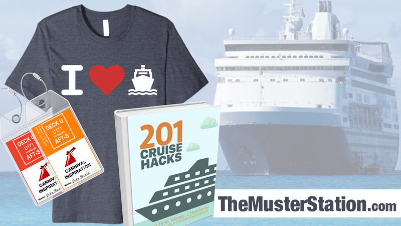 Cruise Products and Accessories from The Muster Station