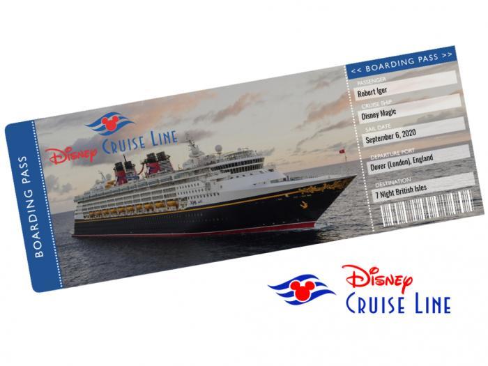 Disney Cruise Ticket Template