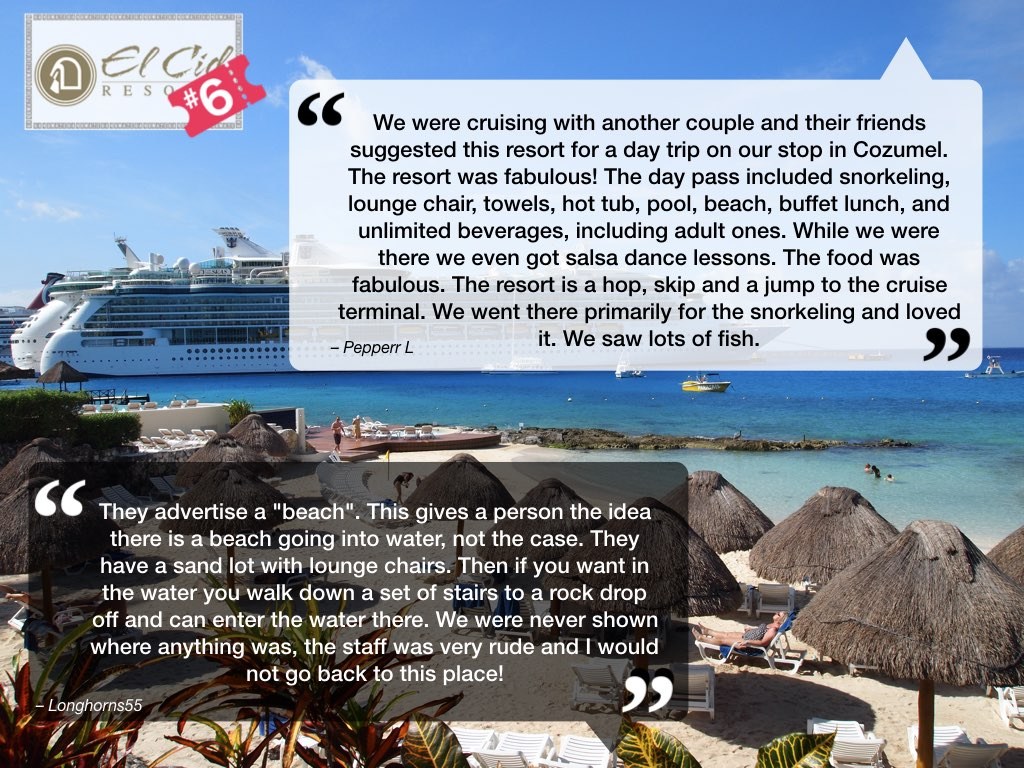 El Cid Cozumel Reviews