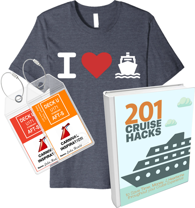 Funny Cruise Shirt Luggage Tags Cruise Hacks Ebook Photos