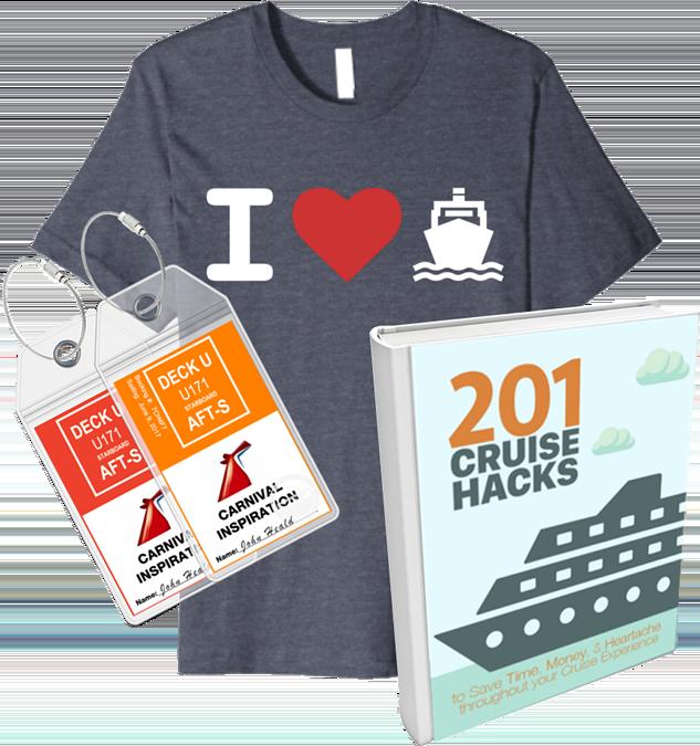 Funny Cruise Shirt Luggage Tags Cruise Hacks Ebook Photos