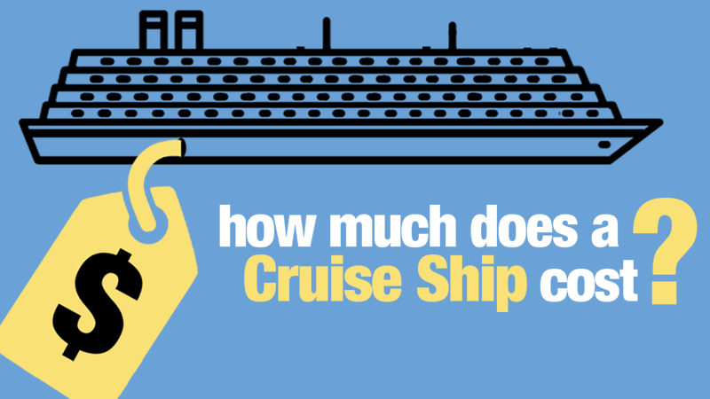 How much does a cruise ship cost average