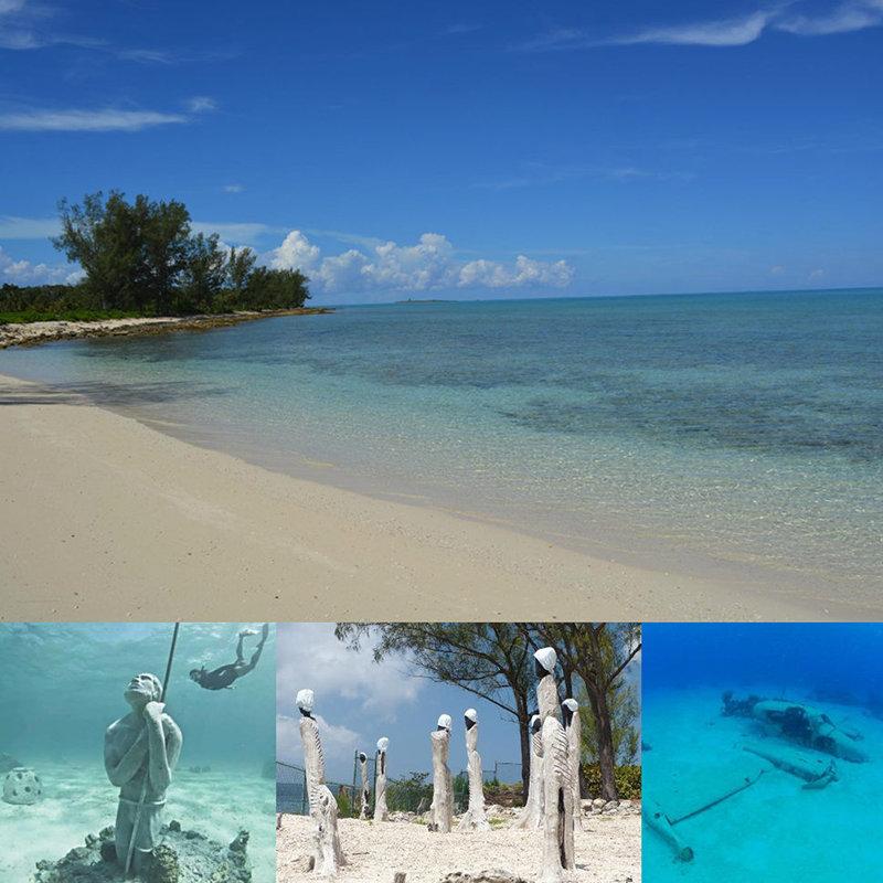 Jaws Beach Nassau Bahamas