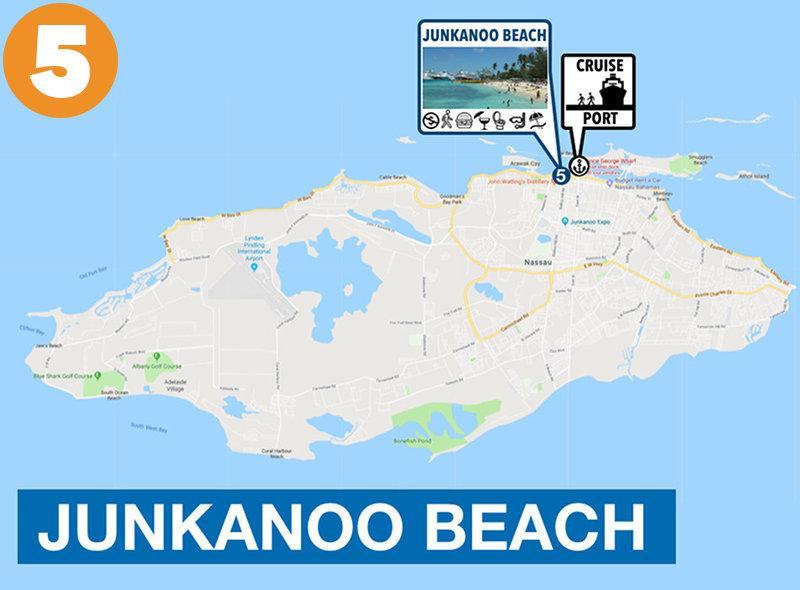 Junkanoo Beach to Nassau Cruise Ship
