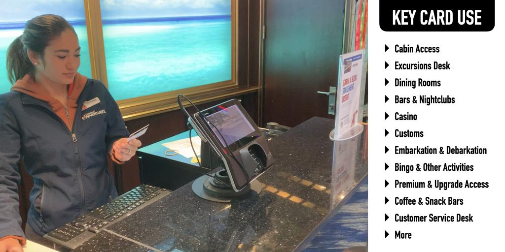 Cruise Key Card Usage