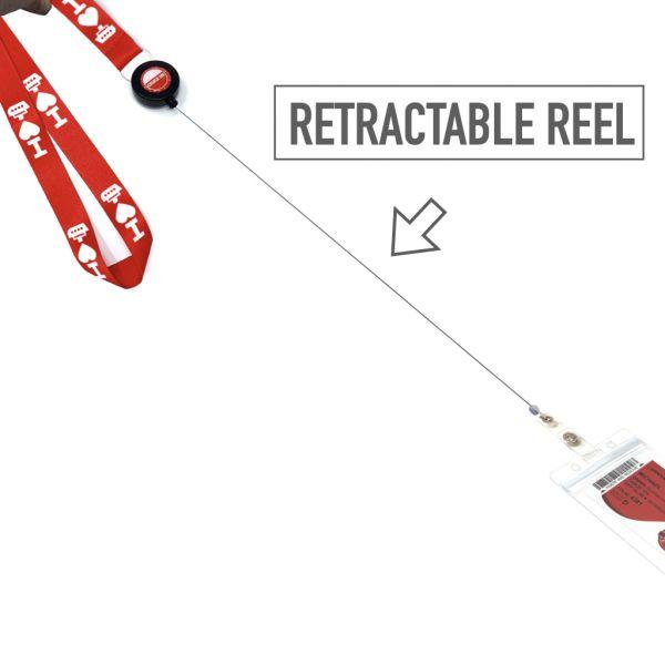 Lanyard Retractable Reel