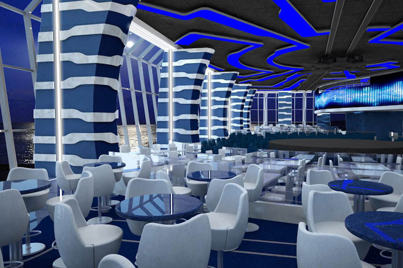 #4 Largest Cruise Ship MSC Meraviglia