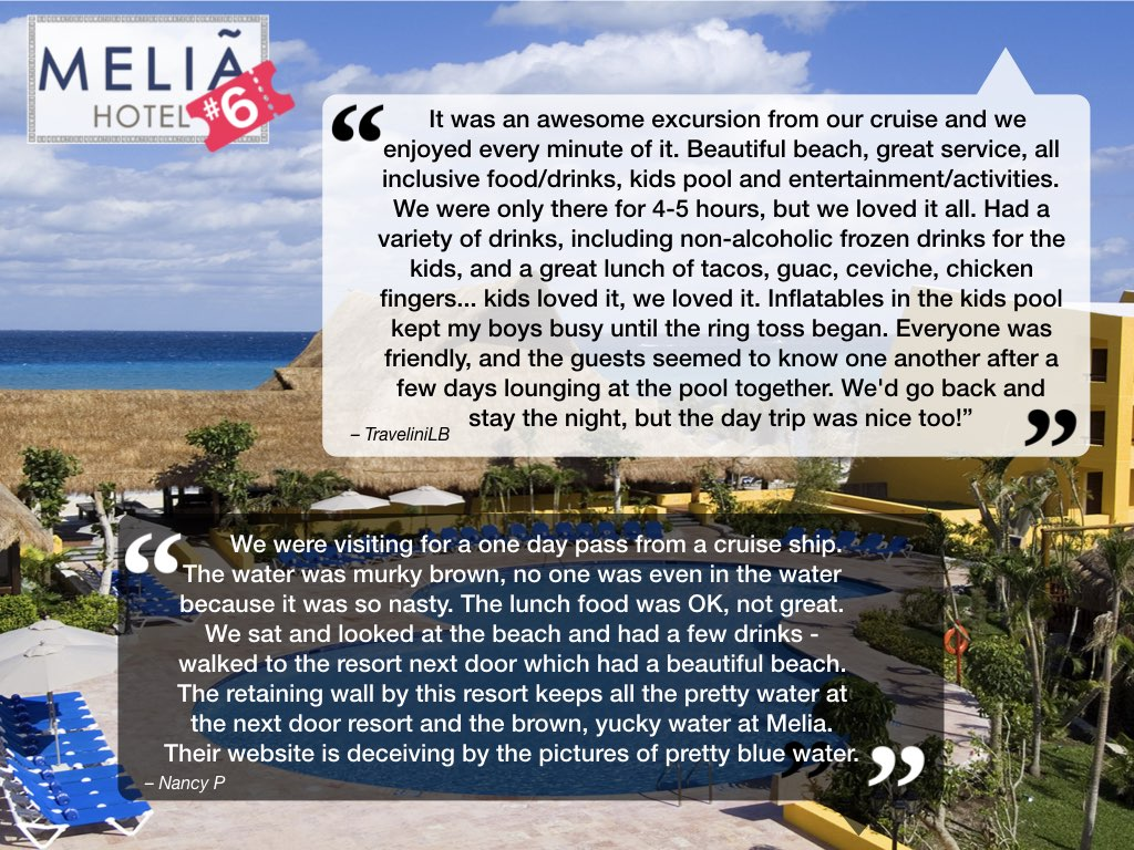 Melia Cozumel Reviews