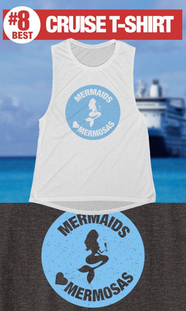 Funny Cruise T-shirt - Mermaids Drink Mermosas Tshirt
