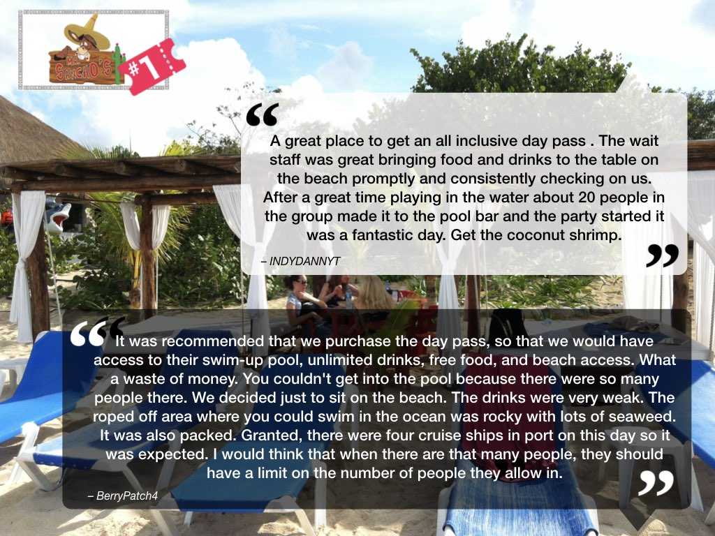 Mr Sanchos Cozumel Reviews