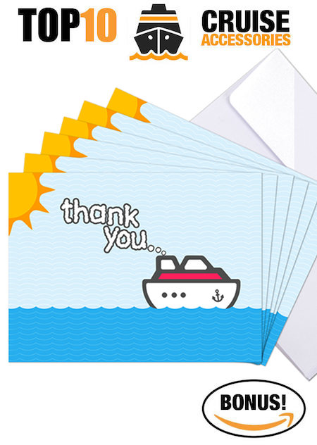 AAmazon Accessories - Cruise Thank You Cards