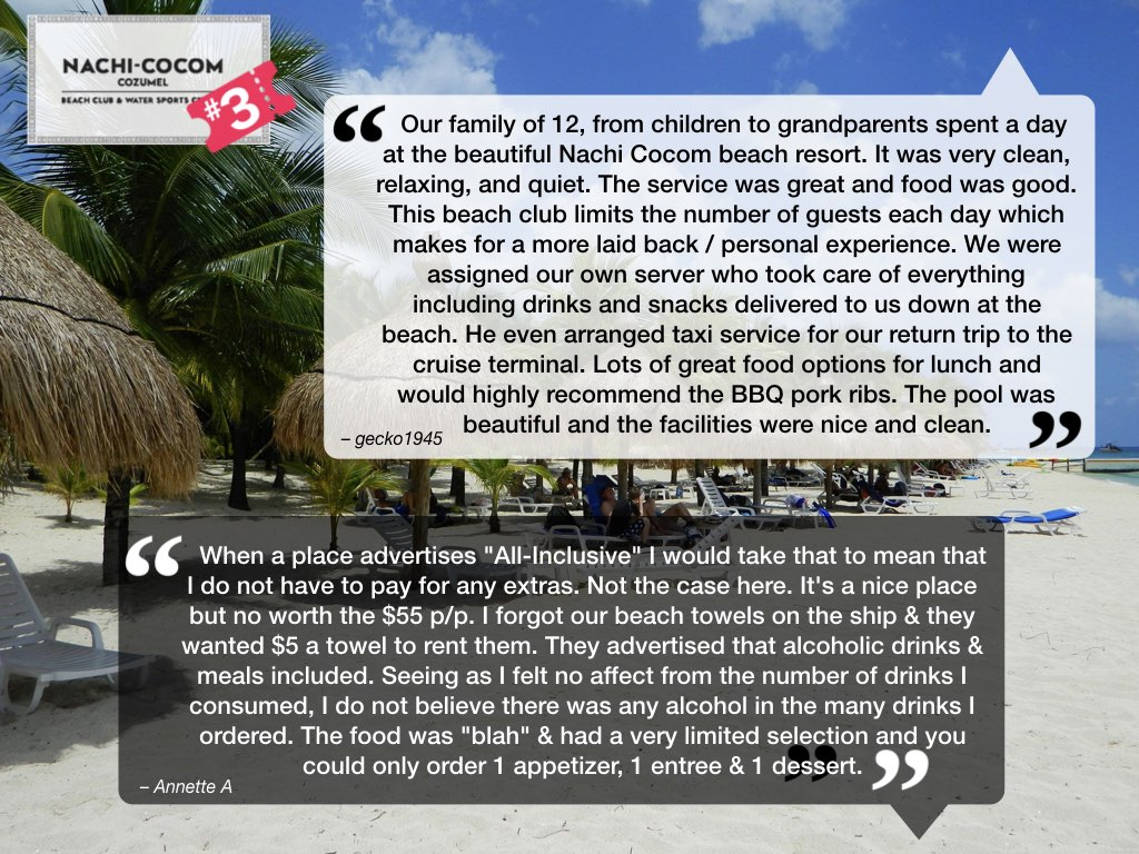 Nachi Cocom Cozumel Reviews