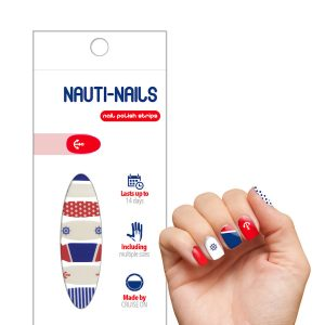 Cruise Nails - Carnival Cruise Design