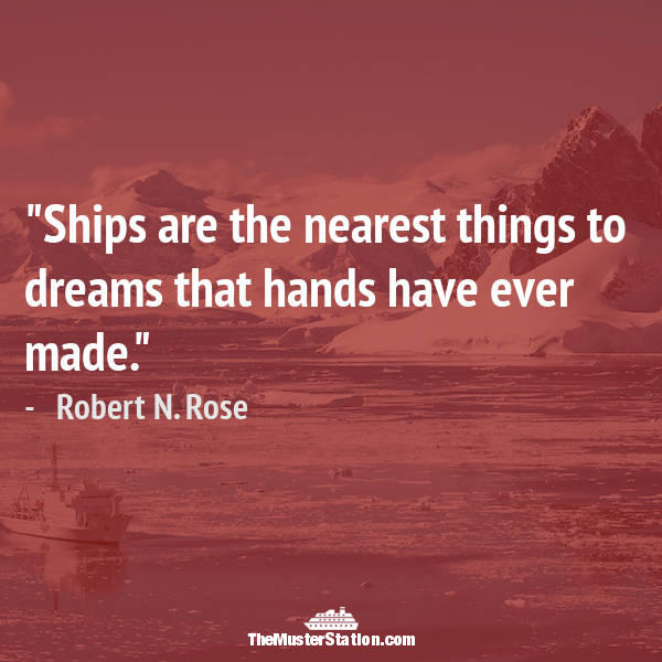 Ocean Quote 34 of 99: Ships are the nearest things to dreams that hands have ever made.