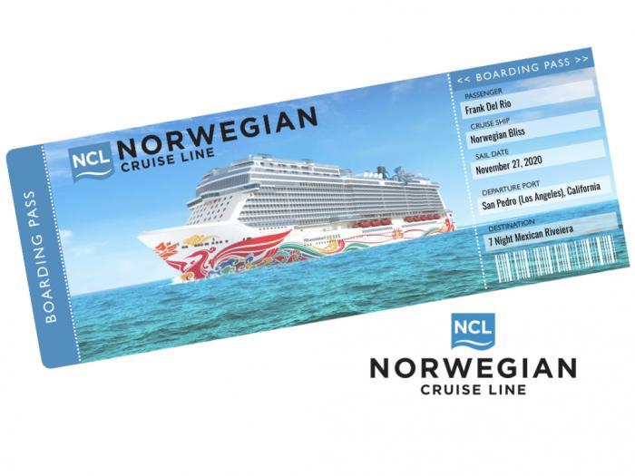 Norwegian Cruise Ticket Template