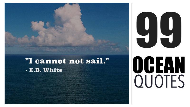 Ocean Quotes Nautical Sayings