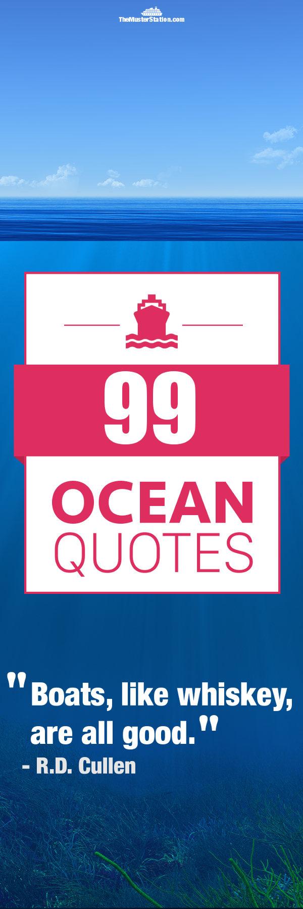 Ocean Quotes Pinterest