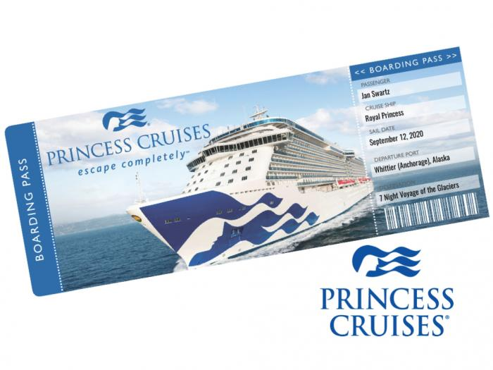 Princess Cruise Ticket Template