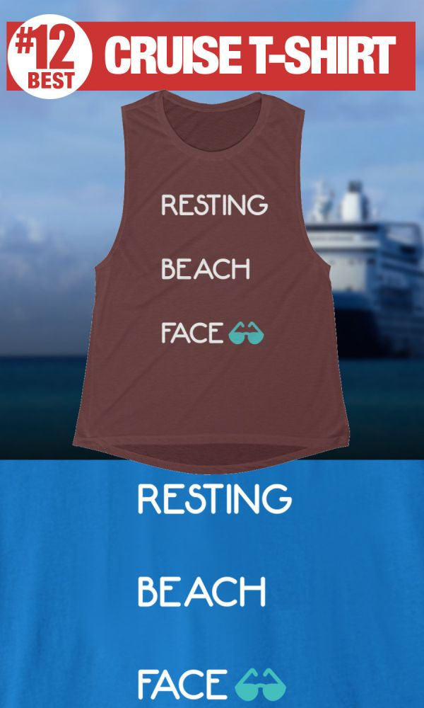 Funny Cruise shirts - Resting Beach Face