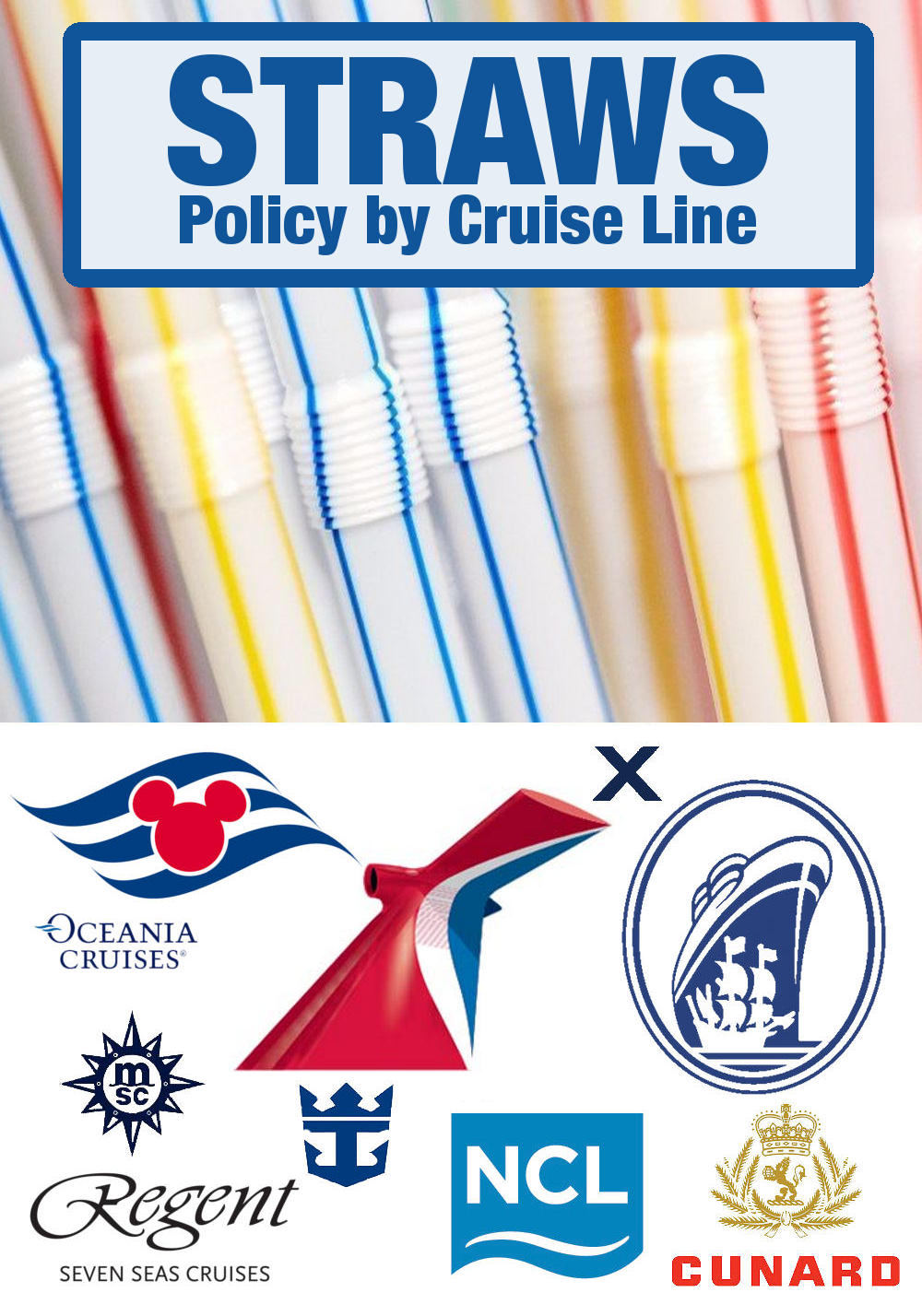 Straws on Cruise Lines