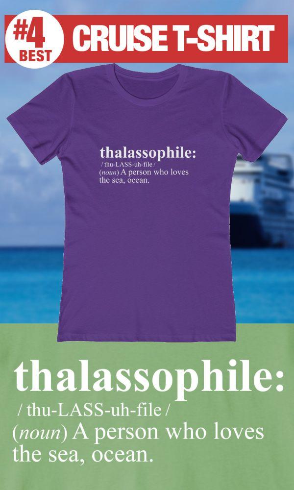 Best Cruise Shirts - Thalassophile