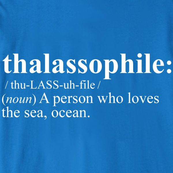 """Thalassophile"" Cruise Accessories T-Shirt"