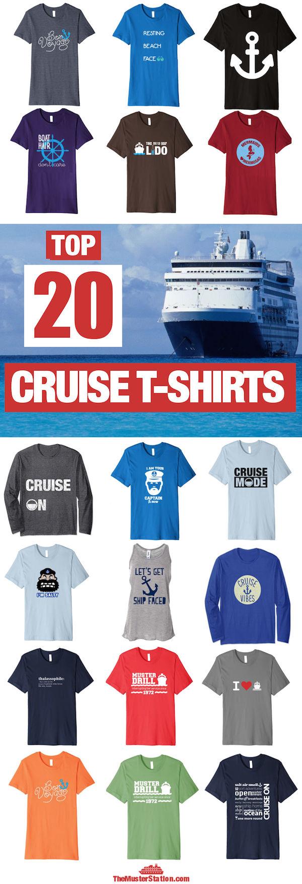 Top Cruise Shirts