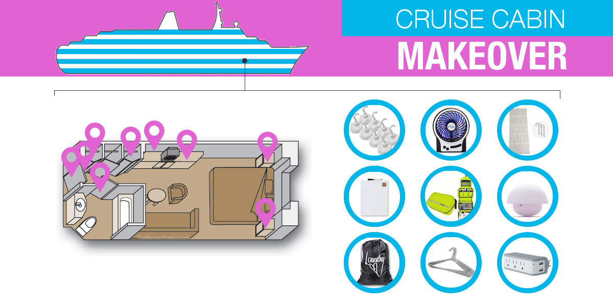 Must Have Cruise Cabin Products