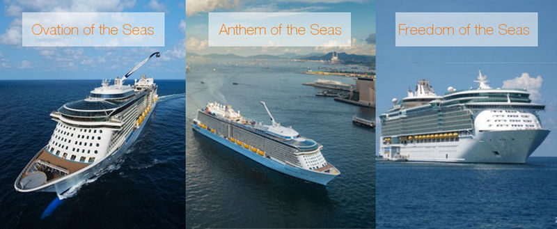 Ovation Anthem and Freedom of the Seas