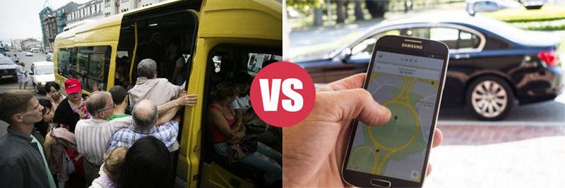 shuttle vs uber