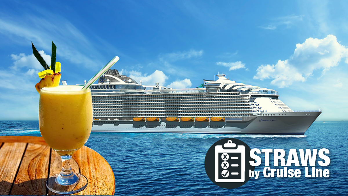 straw ban by cruise line